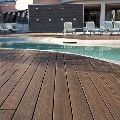 Decks pvc piscinas